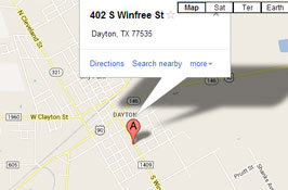 dayton-dentist-map